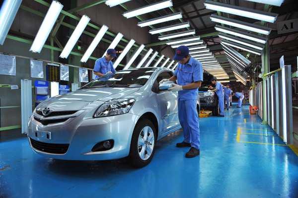 Các dòng xe có tỷ lệ nội địa hóa cao như Inova của Toyota Việt Nam có thể sẽ được giảm thuế linh kiện nhập khẩu nếu tiếp tục đà tăng sản lượng - Ảnh: Vũ Hân